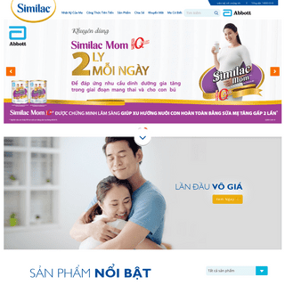 Trang chủ - Similac Việt Nam
