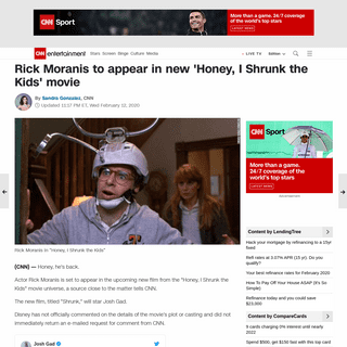 Rick Moranis to appear in new 'Honey, I Shrunk the Kids' movie - CNN