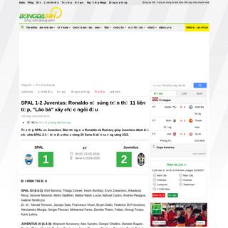 ArchiveBay.com - bongda24h.vn/truc-tiep-bong-da/tran-dau/spal-vs-juventus-serie-a-201920-hom-nay-372-245543.html - Trực tiếp bóng đá SPAL vs Juventus Serie A 2019-20 hôm nay