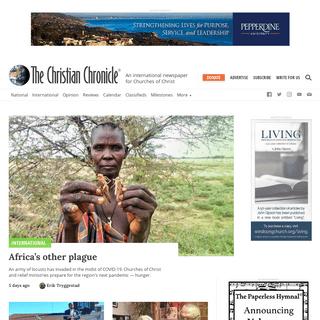 The Christian Chronicle - An International Newspaper for Churches of Christ