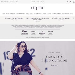 ArchiveBay.com - citychic.com.au - Shop Women's Plus Size Fashion Forward Plus Size Clothing Sizes 12+ l City Chic Australia