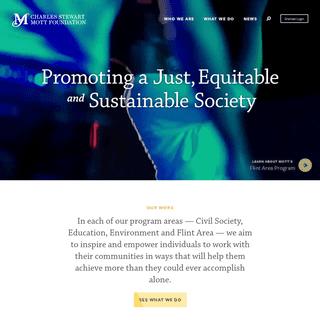 Home - Mott Foundation