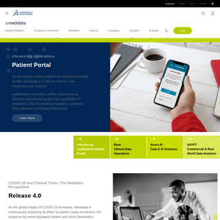 Medidata l Unified Life Science Platform