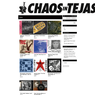 Chaos in Tejas — Home
