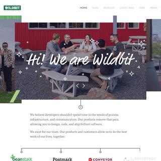 ArchiveBay.com - wildbit.com - Wildbit — The loving creators of Postmark, Conveyor, and Beanstalk