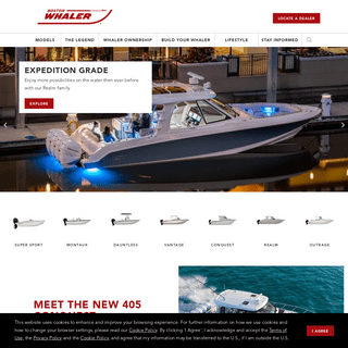 Boston Whaler - Reliable, Upscale Luxury Boats