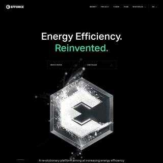 Energy Efficiency. Reinvented. - EFFORCE
