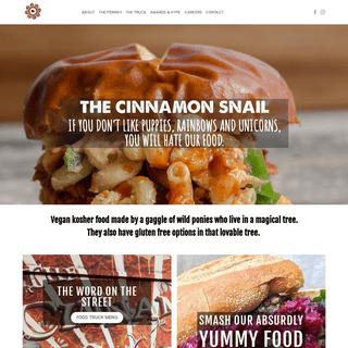 The Cinnamon Snail – Razz ma' tazz vegan delectables NYC