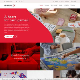 Cartamundi - Playing cards, card game and board game manufacturer