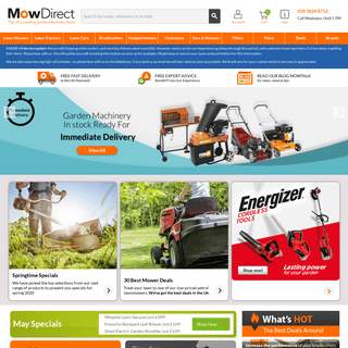 ArchiveBay.com - mowdirect.co.uk - MowDirect - Lawnmowers - Lawn Tractors - Free Delivery
