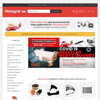 ArchiveBay.com - nessycar.fr - Pièce de voiture sans permis - trouvez les bonnes pièces auto !