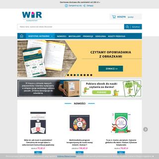 Wydawnictwo WiR - sklep internetowy - pomoce edukacyjne i logopedyczne