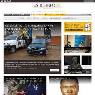 Information sur la justice et les processus de réconciliation