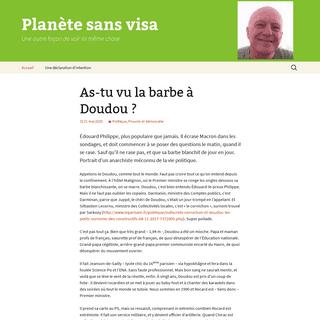 Planète sans visa - Une autre façon de voir la même chose