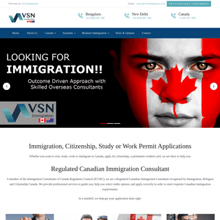 Canada Immigration from India - Canada Express Entry Consultants