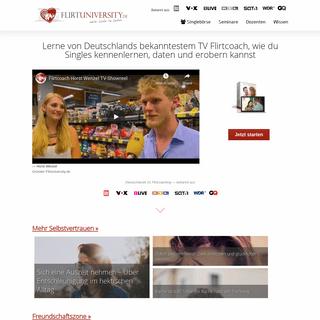 Flirt University - Professionelles Flirt und Dating Coaching