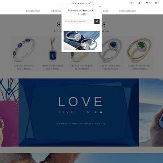 ArchiveBay.com - simongjewelry.com - Simon G. Jewelry- Designer Engagement Rings & Jewelry