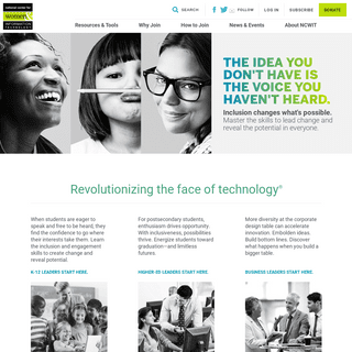 National Center for Women & Information Technology -