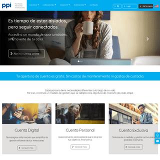Invertí en todo el mundo desde nuestra plataforma - PPI