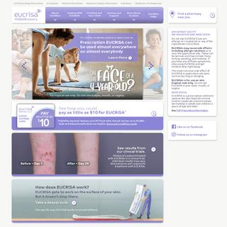Eczema Treatment - EUCRISA® (crisaborole) - Safety Info