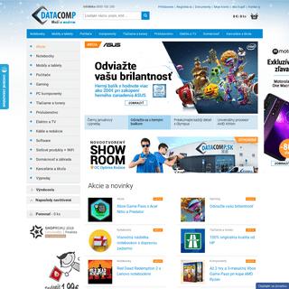 Datacomp.sk - Všetko pre Váš počítač