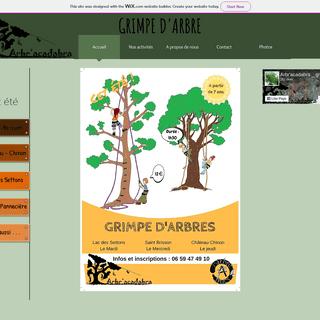 arbracadabra grimpe d'arbre