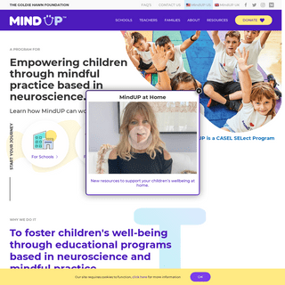 MindUP - Helping Children Thrive In School, Work and Life!