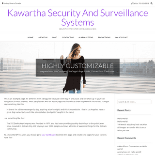 Kawartha Security And Surveillance Systems – Security systems for home and business