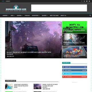 ArchiveBay.com - horrorgeeklife.com - Horror Geek Life - Covering horror, sci-fi, retro, comics, and gaming.