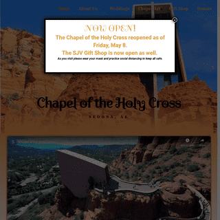 Chapel of the Holy Cross – Visit the Chapel in Sedona