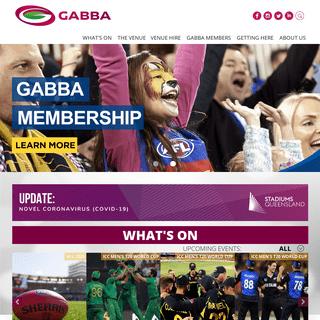Gabba - Official Website of The Gabba