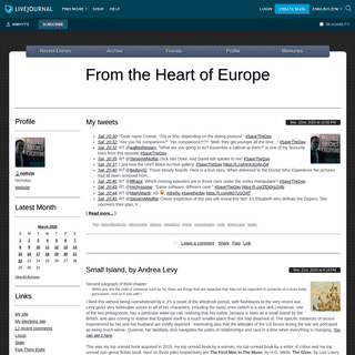 From the Heart of Europe — LiveJournal