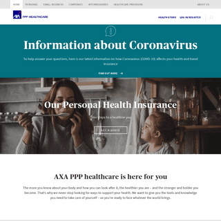 Private healthcare for individuals and businesses - AXA PPP