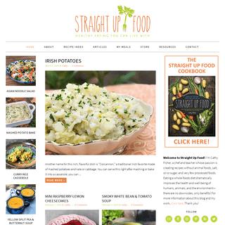 ArchiveBay.com - straightupfood.com - Straight Up Food - Healthy and delicious vegan recipes using no salt, sugar or oil.