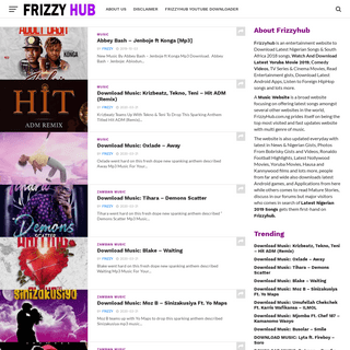 A complete backup of frizzyhub.com.ng