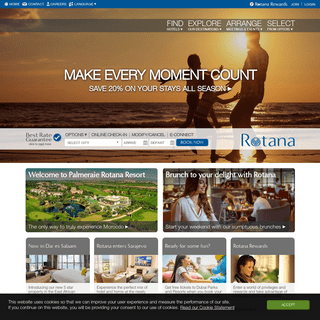 Rotana Hotels and Resorts • Hotels in the Middle East, Africa & Turkey