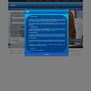 ArchiveBay.com - citibank.com.ve - Citibank Online - Inicio