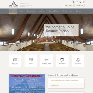 Saint Rosalie Roman Catholic Church - Harwood Heights, IL