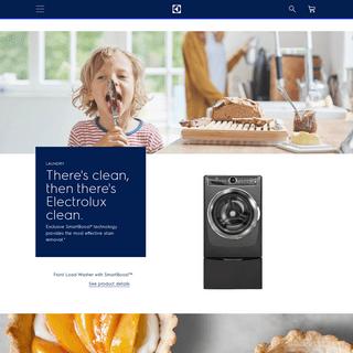 Home Appliances- Kitchen Appliances, Washers & Dryers - Electrolux