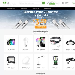 LED Lights, Light Bulb, Outdoor Lights - LE