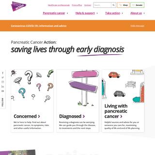 Pancreatic Cancer Action - UK Based Pancreatic Cancer Charity