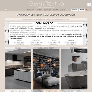 Showroom de interiorismo, diseño y decoración - GUNNI&TRENTINO