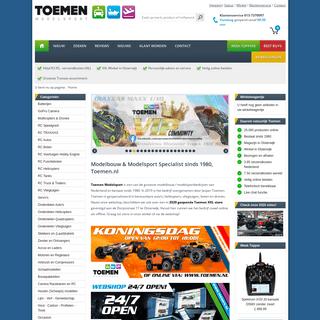 Toemen Modelbouw - Nederlands grootste assortiment modelbouw