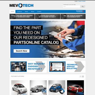 Mevotech LP - Performance – Design – Selection