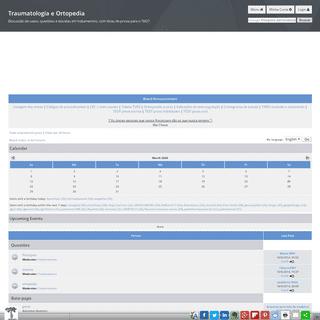 Traumatologia e Ortopedia • Board Index [ Guest ]