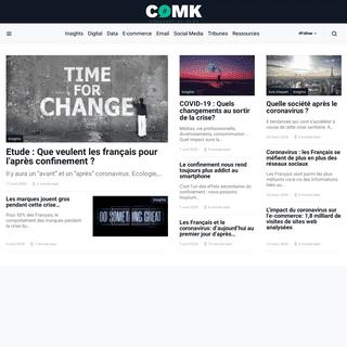 Comarketing-News - Source d'infos marketing - toute l'actualité Digital, Email, E-commerce et Data