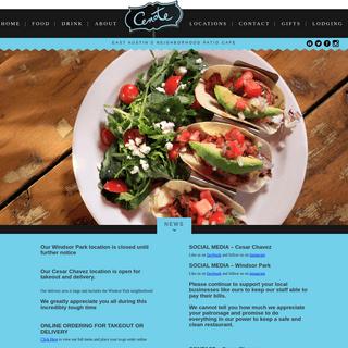 Cenote - East Austin's Neighborhood Patio Cafe