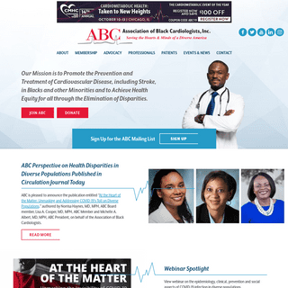 Association of Black Cardiologists - Saving the Hearts & Minds of a Diverse America