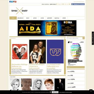 TerazTeatr.pl - największy portal teatralny