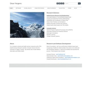 ArchiveBay.com - yergens.net - Dean Yergens - Home